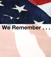 We Remember . . .